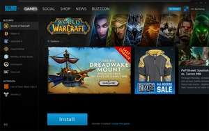 Blizzard App Screenshot