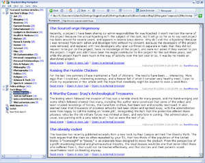 Blog Navigator Screenshot