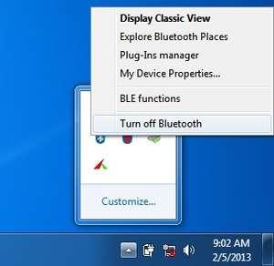 BlueSoleil Screenshot