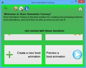 Boot Animation Factory Screenshot