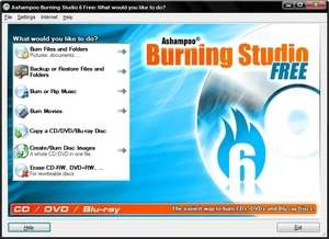 Burning Studio Free Screenshot
