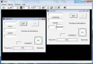 Educational Software - Screenshot for Calcul