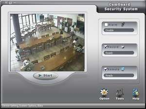 CamGuard Security System Screenshot