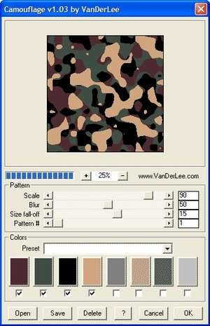 Camouflage Screenshot