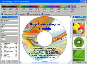 CD and DVD Labeler Screenshot