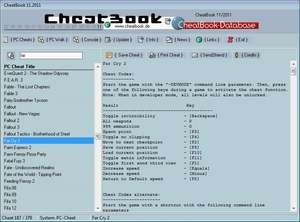 Action Games - Screenshot for CheatBook DataBase