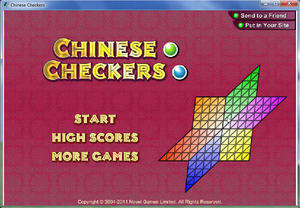 Strategy Games - Screenshot for Chinese Checkers