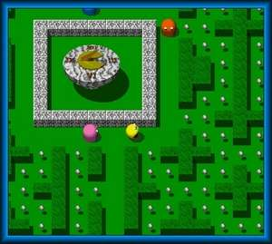 Arcade Games - Screenshot for Chompster 3D - PacMan Returns Again!
