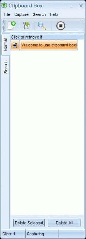 Clipboard Box Screenshot