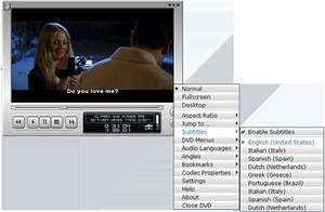 Cliprex DS DVD Player Screenshot