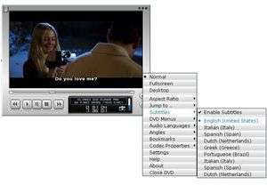 Cliprex DVD Player Professional Screenshot