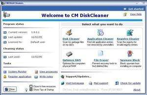 CM DiskCleaner Screenshot