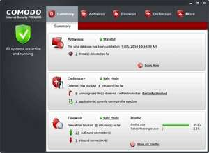 Comodo Antivirus Free Screenshot