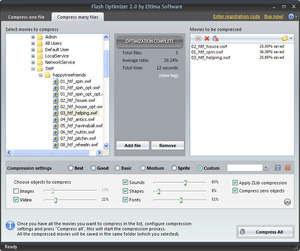 Compress SWF Screenshot