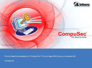 CompuSec Free Screenshot