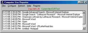 Computer Use Reporter Screenshot