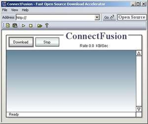 Download Managers - Screenshot for ConnectFusion