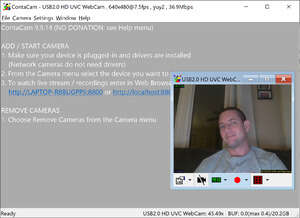 Video Capture Programs - Screenshot for ContaCam