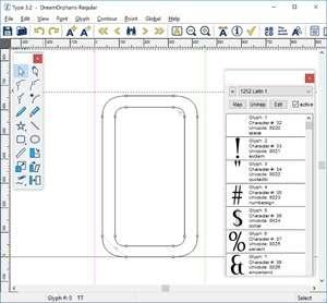 Type Screenshot