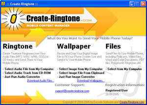 Create Ringtone Screenshot