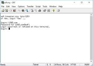 CRT Screenshot