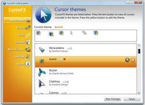CursorFX Screenshot