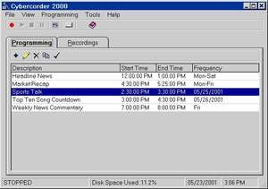 Cybercorder 2000 Screenshot