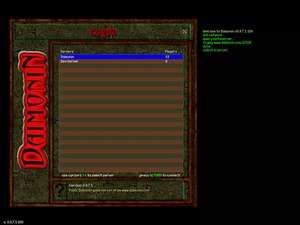 RPG Games - Screenshot for Daimonin
