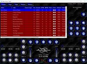 Dance Music Player Screenshot
