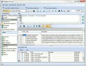 Database Tools - Screenshot for Database Browser