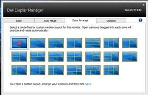 Dell Display Manager Screenshot