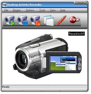 Video Capture Programs - Screenshot for Desktop Activity Recorder
