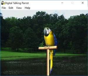 Digital Talking Parrot Screenshot