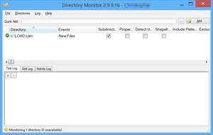 Directory Monitor Screenshot