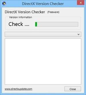 DirectX Version Checker Screenshot