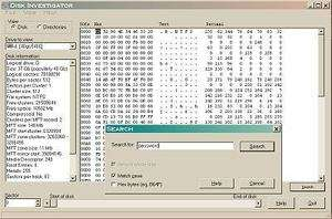 Disk Investigator Screenshot