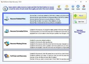 File Recovery Programs - Screenshot for DiskGetor Data Recovery Free