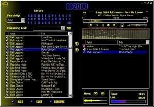 DJ 2000 Screenshot
