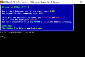 Emulator - Screenshot for DOSBox