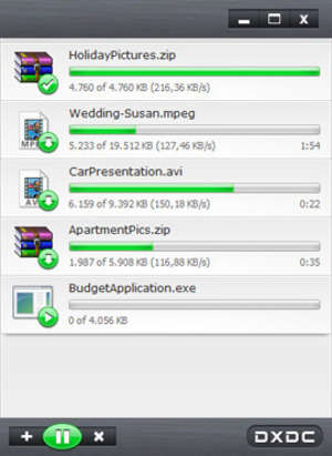DownloadX Activex Download Control Screenshot