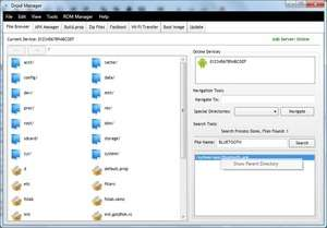 Droid Manager Screenshot