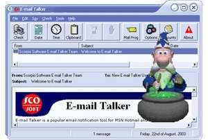 E-mail Talker Screenshot