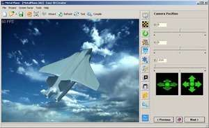 3D Screensavers - Screenshot for Easy 3D Creator