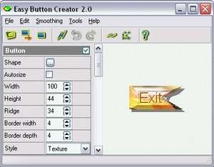 Easy Button Creator Screenshot