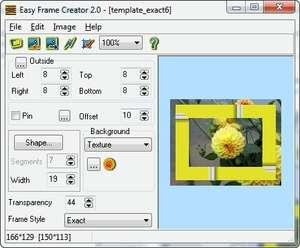 Easy Frame Creator Screenshot