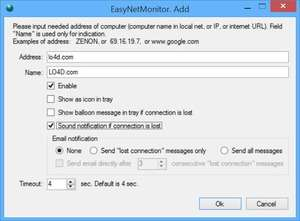 EasyNetMonitor Screenshot