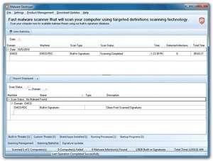 EMCO Malware Destroyer Screenshot
