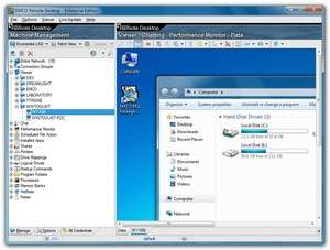 EMCO Remote Desktop Professional Screenshot