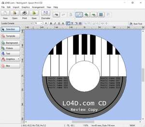 Epson Print CD Screenshot
