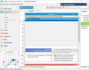 Organizers and PIM Software - Screenshot for EssentialPIM